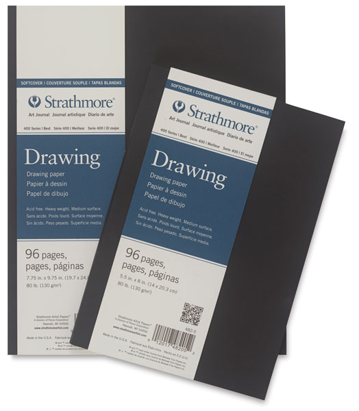 400 Series Drawing Art Journal, Soft Cover