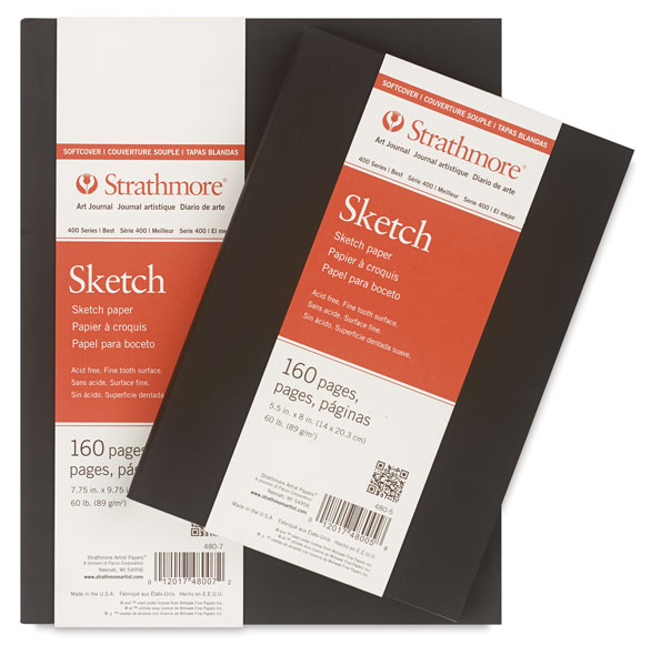 Softcover 400 Series Sketch Artist Journal