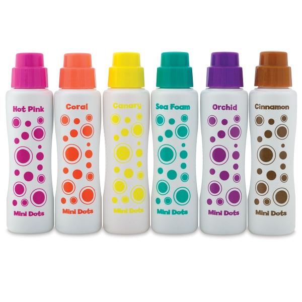 Mini Markers, Island Brights, Set of 6