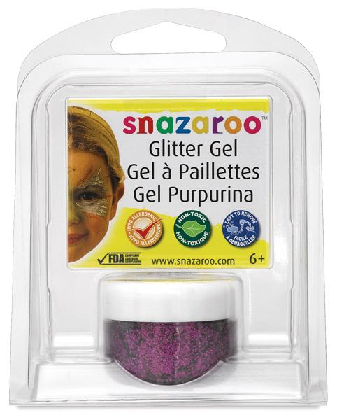 Fuchsia Pink Glitter Gel