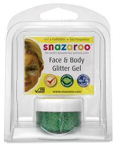Bright Green Glitter Gel