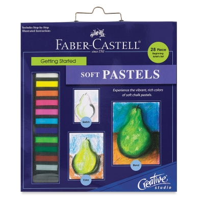 Creative Studio Getting Started Soft Pastel Set