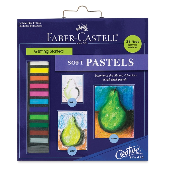 Creative Studio Getting Started Soft Pastel Set