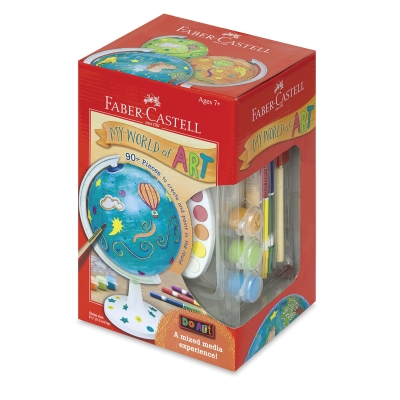 My World of Art Globe Kit