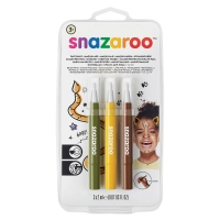 Face Paint Brush Pen Sets, Jungle, Set of 3