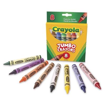 Jumbo Crayons, Set of 8