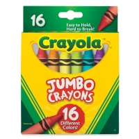 Jumbo Crayons, Set of 16
