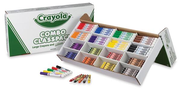 Crayola Combo Classpack