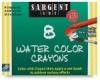 Watercolor Crayons, Set of 8