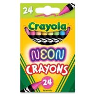 Neon Crayons, Set of 24