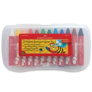 Jumbo Beeswax Crayons, Set of 12