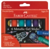 Set of 6 Metallic Colors