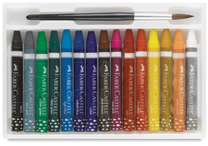 Watercolor Crayons, Set of 15