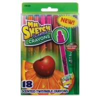 Scented Twistable Crayons, Set of 18