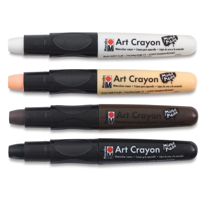 Art Crayons, Essentials, Set of 4