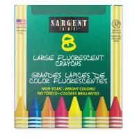 Large Fluorescent Crayon Set