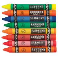 Sargent Art Large Fluorescent Crayon Set