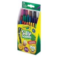 Silly Scents Mini Twistables Crayons, Set of 24