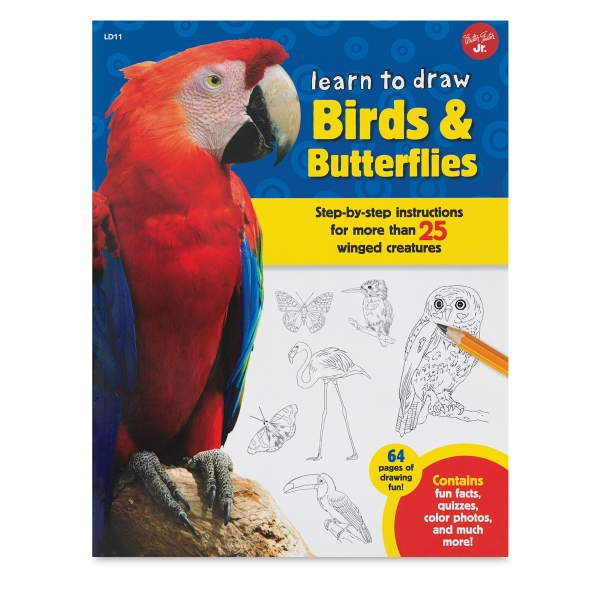 Learn to Draw Birds and Butterflies