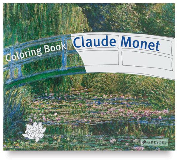 Claude Monet Coloring Book