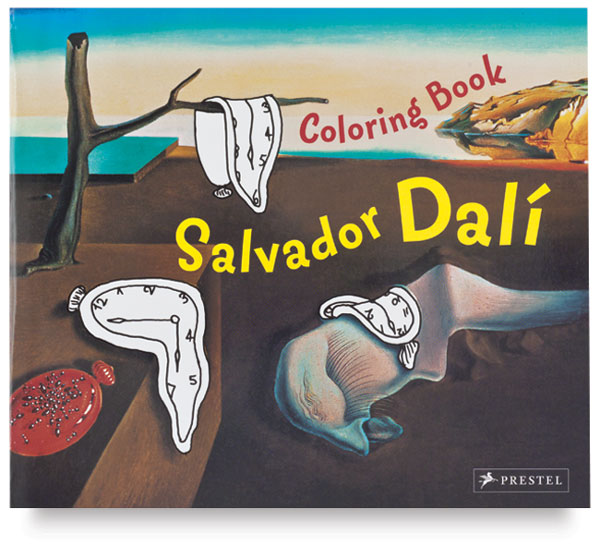 Salvador Dalí Coloring Book