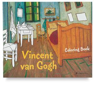 Vincent van Gogh Coloring Book