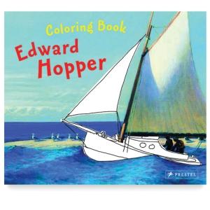 Edward Hopper Coloring Book