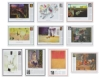 Twentieth Century Art Masterpieces, Set of 10