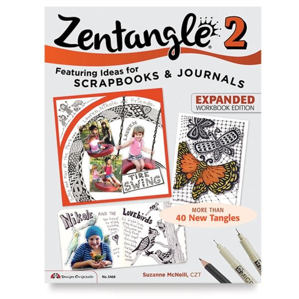 Zentangle 2, Expanded Workbook: Ideas for Scrapbooks & Journals