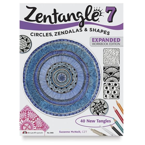 Zentangle 7, Expanded Workbook: Circles, Zendalas & Shapes