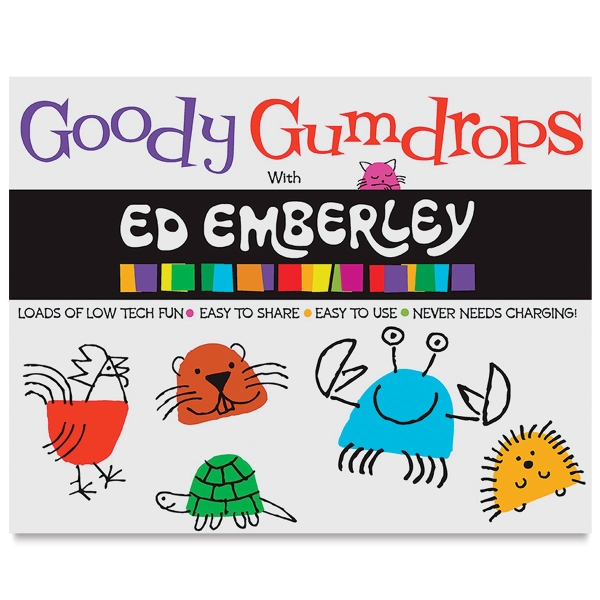 Ed Emberley On the Go! Drawing Pad Book, Goody Gumdrops