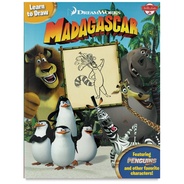 Learn to Draw DreamWorks: Madagascar
