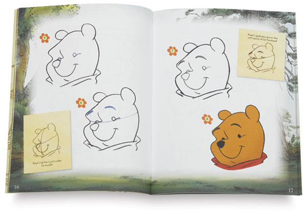 Learn To Draw Disney Winnie The Pooh Blick Art Materials