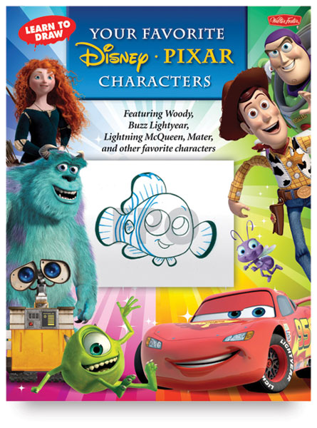 Learn to Draw Your Favorite Disney-Pixar Characters
