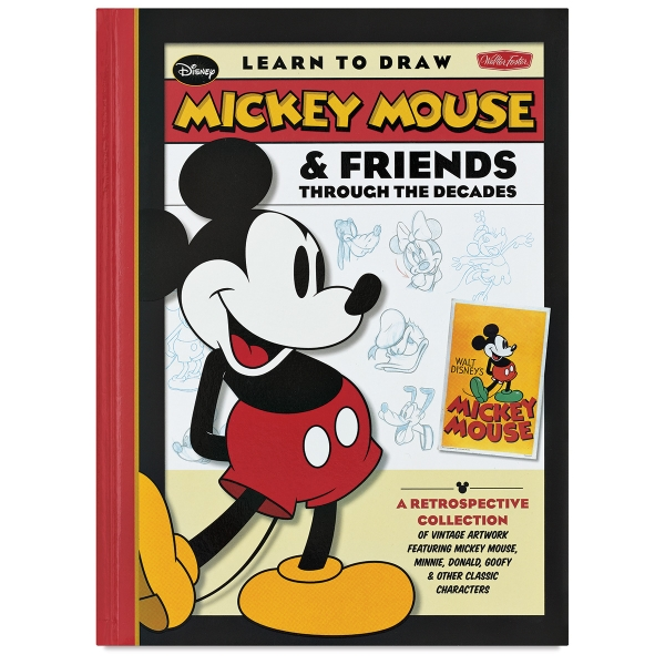 Learn To Draw Mickey Mouse Friends Through The Decades Blick Art