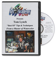 Best of Watercolor Tips & Techniques by Tom Lynch DVD