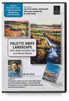 Creative Catalyst Palette Knife Landscape DVD