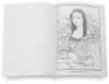 Art Masterpieces to Color, 128 Pages