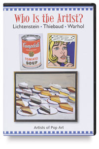 Pop Art: Lichtenstein, Thiebaud, Warhol