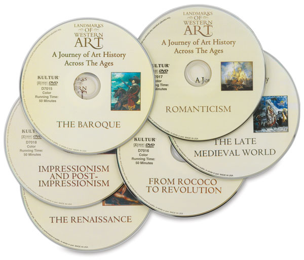 Landmarks of Western Art, Boxed Set of All 6 DVDs