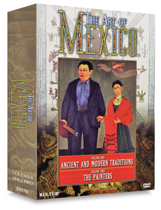 The Art of Mexico, Boxed Set of 2 DVDs