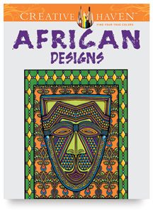 african designs - Creative Haven Coloring Books