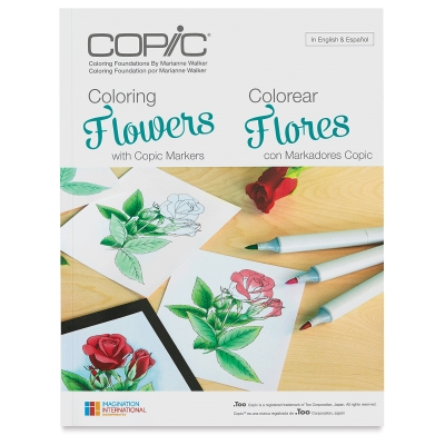 Coloring Flowers with Copic Markers