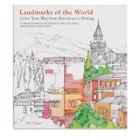 Landmarks of the World Coloring Book