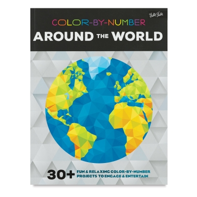 Color-by-Number Book, Around the World
