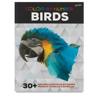 Color-by-Number Book, Birds