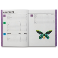 Color-by-Number Book, Butterflies