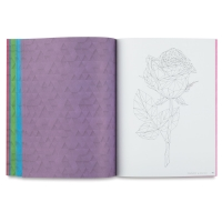 Color-by-Number Book, Flowers