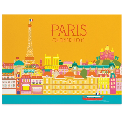Paris Coloring Book