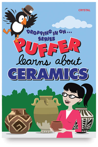 Dropping In On... Puffer Learns About Ceramics, DVD